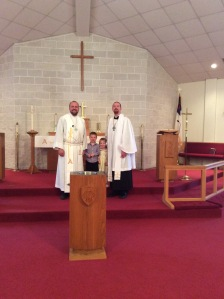 With Pr. Michael Schuermann at Good Shepherd, Sherman, IL